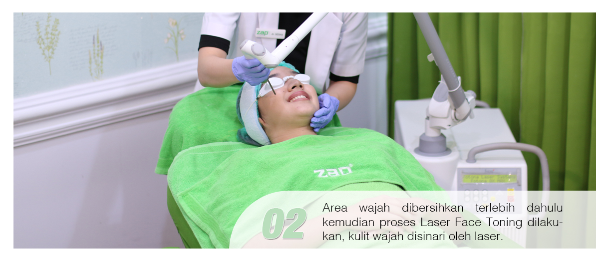 Langkah kedua treatement Photo Facial