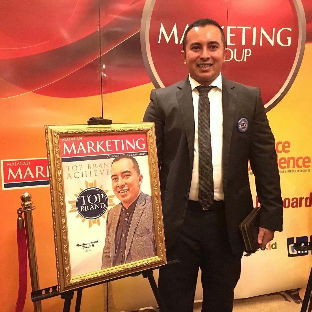 ZAP meraih penghargaan TOP Brand Award 2016