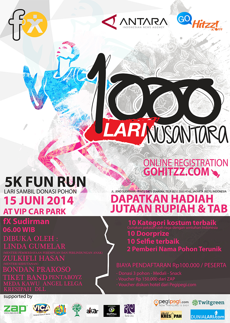 Poster 1000 Run