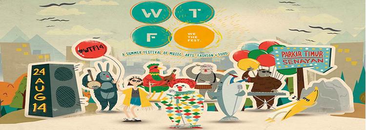 Festival musik bertajuk We The Fest (WTF) didukung ZAP