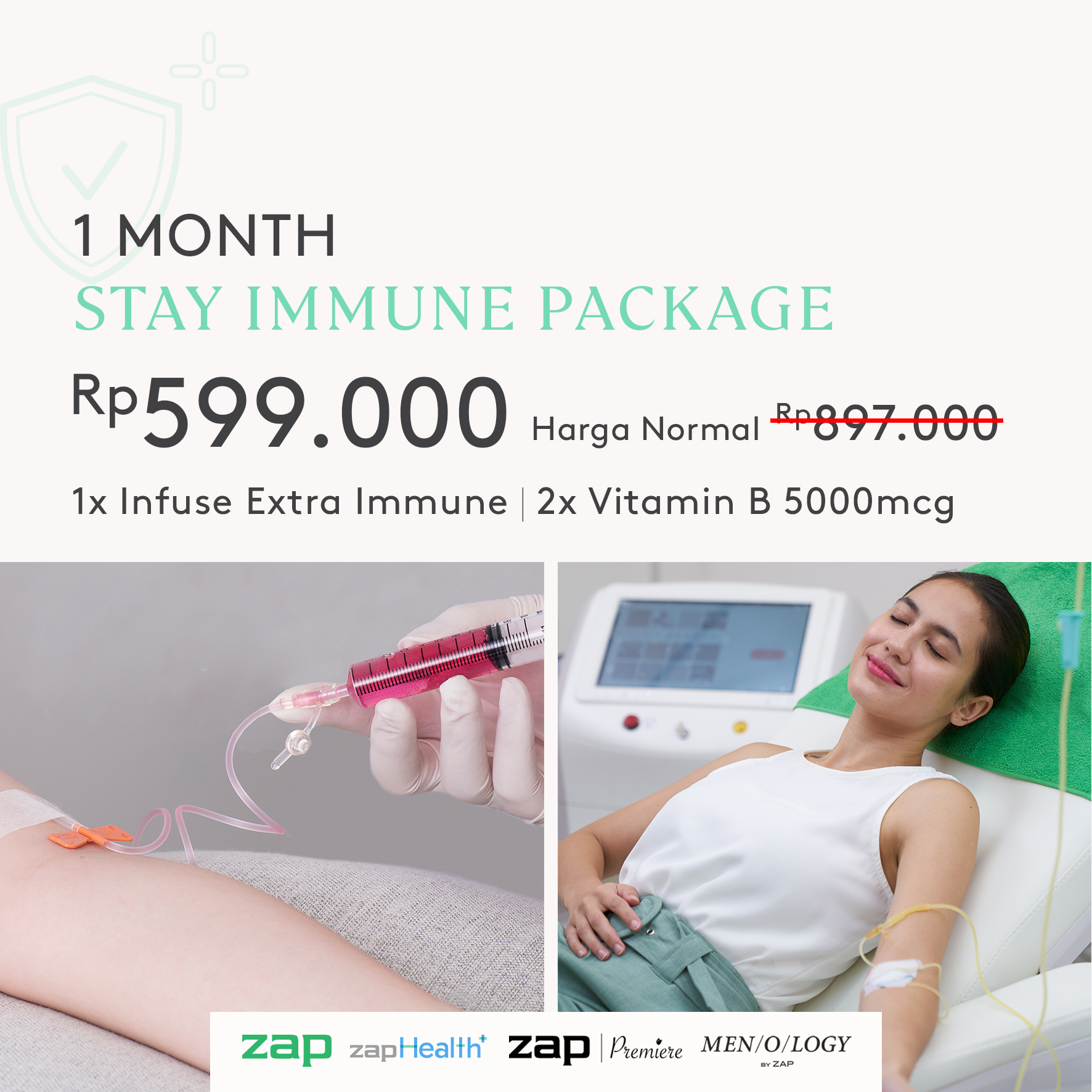 1 Month Stay Immune Package