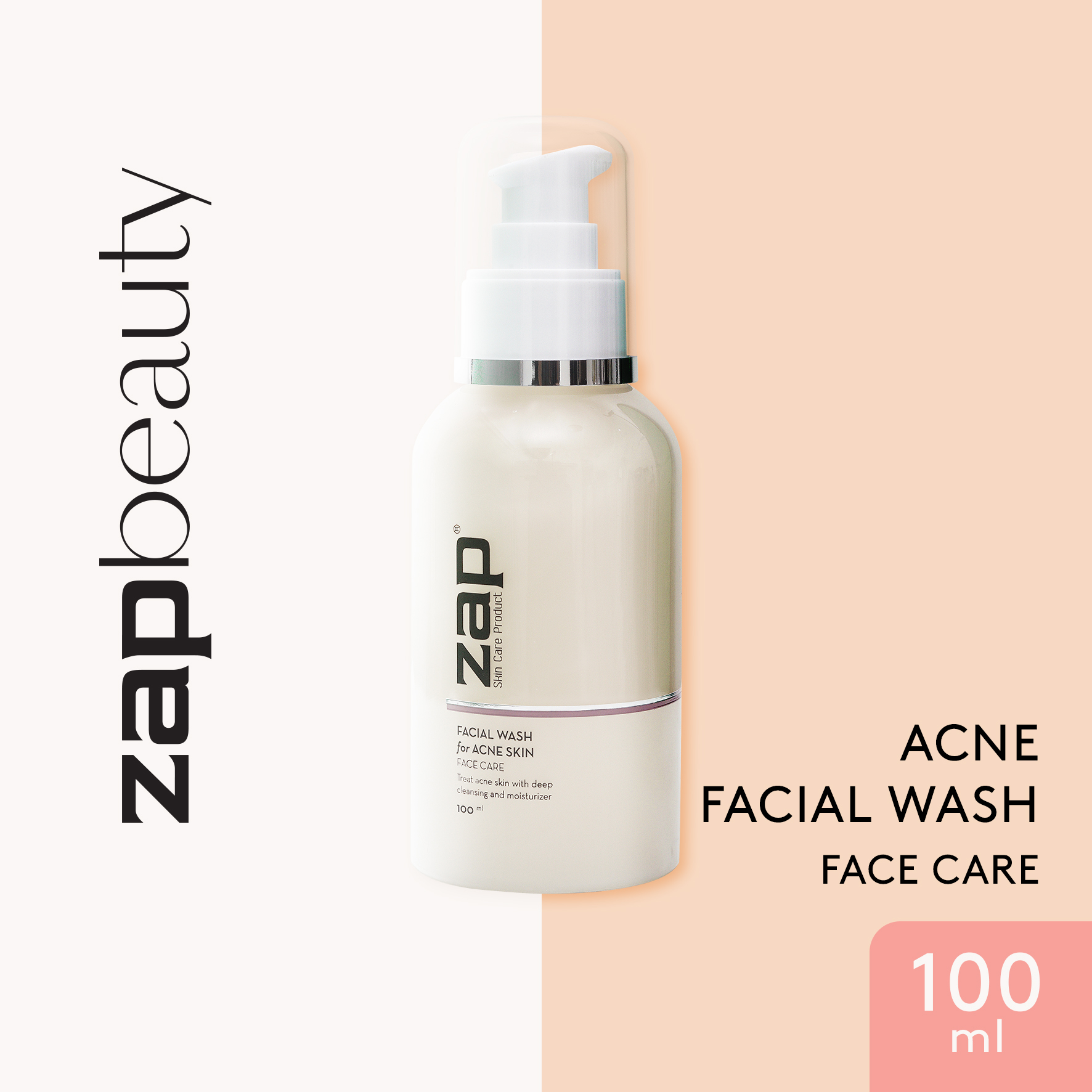 ZAP Anti Acne Facial Wash