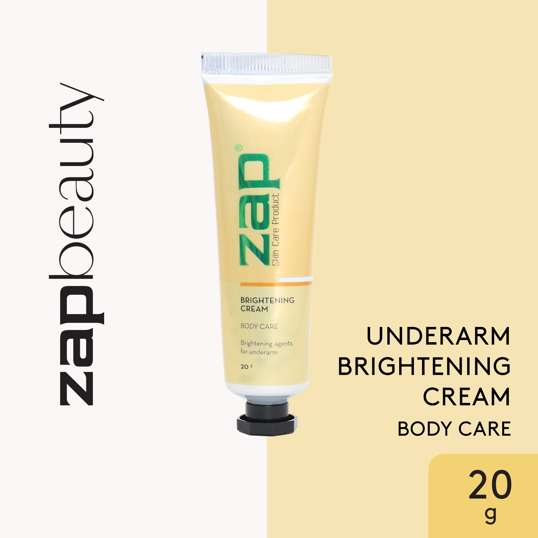 ZAP Underarm Brightening Cream 20gr