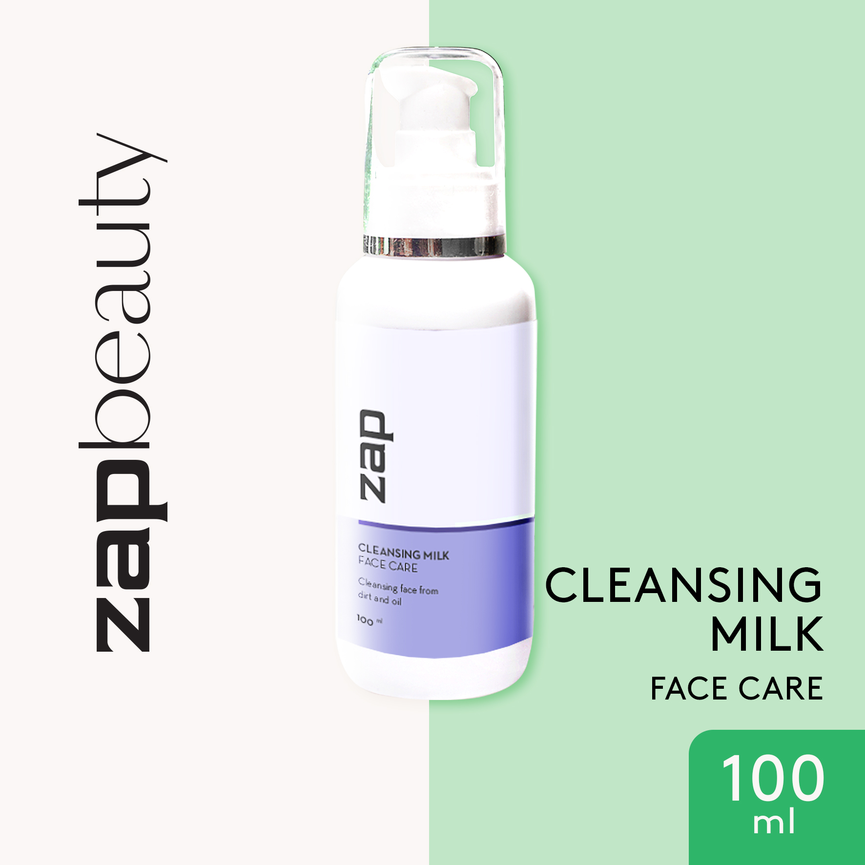 ZAP Facial Cleansing Milk 100 ml
