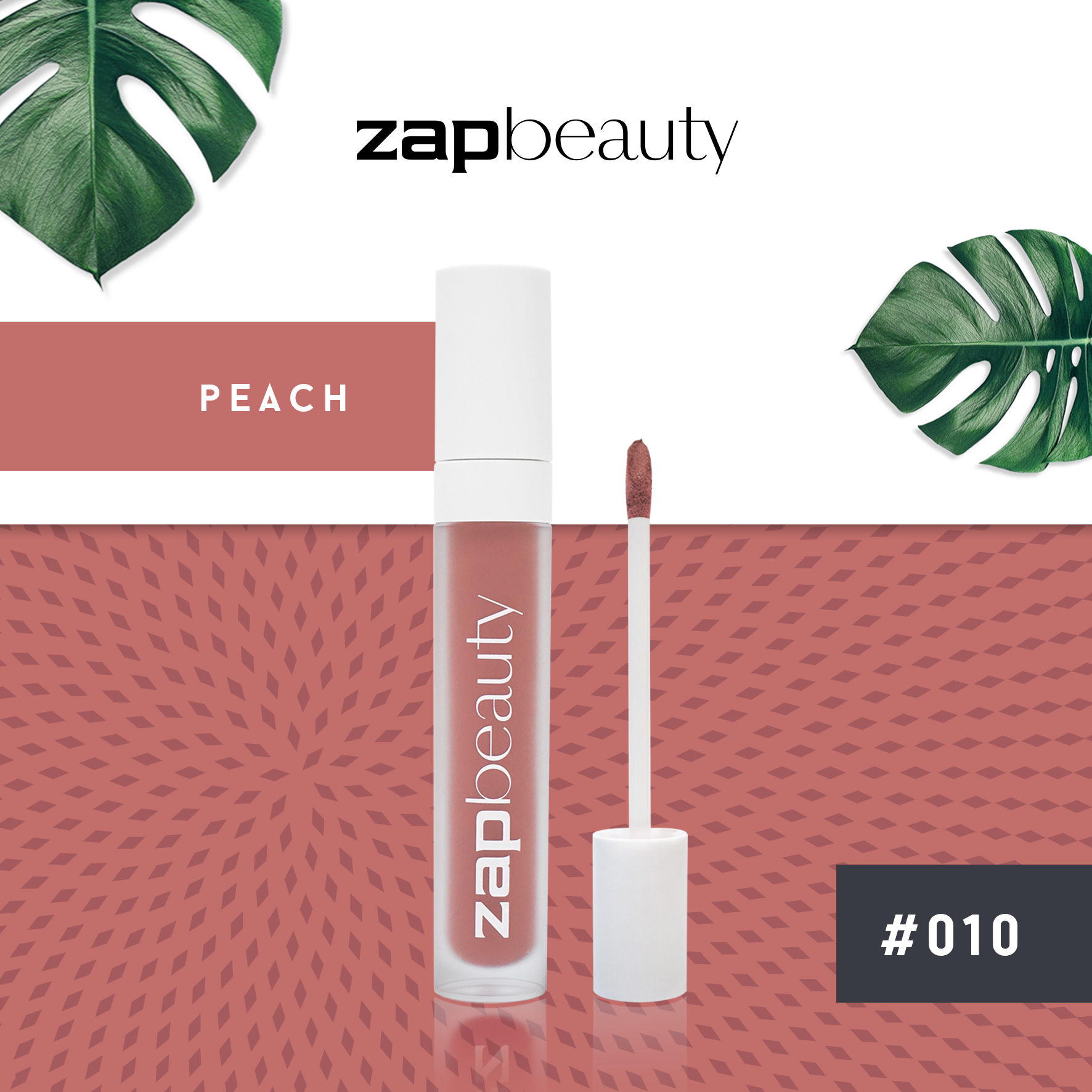 Zap Beauty Lip Matte - Peach 010