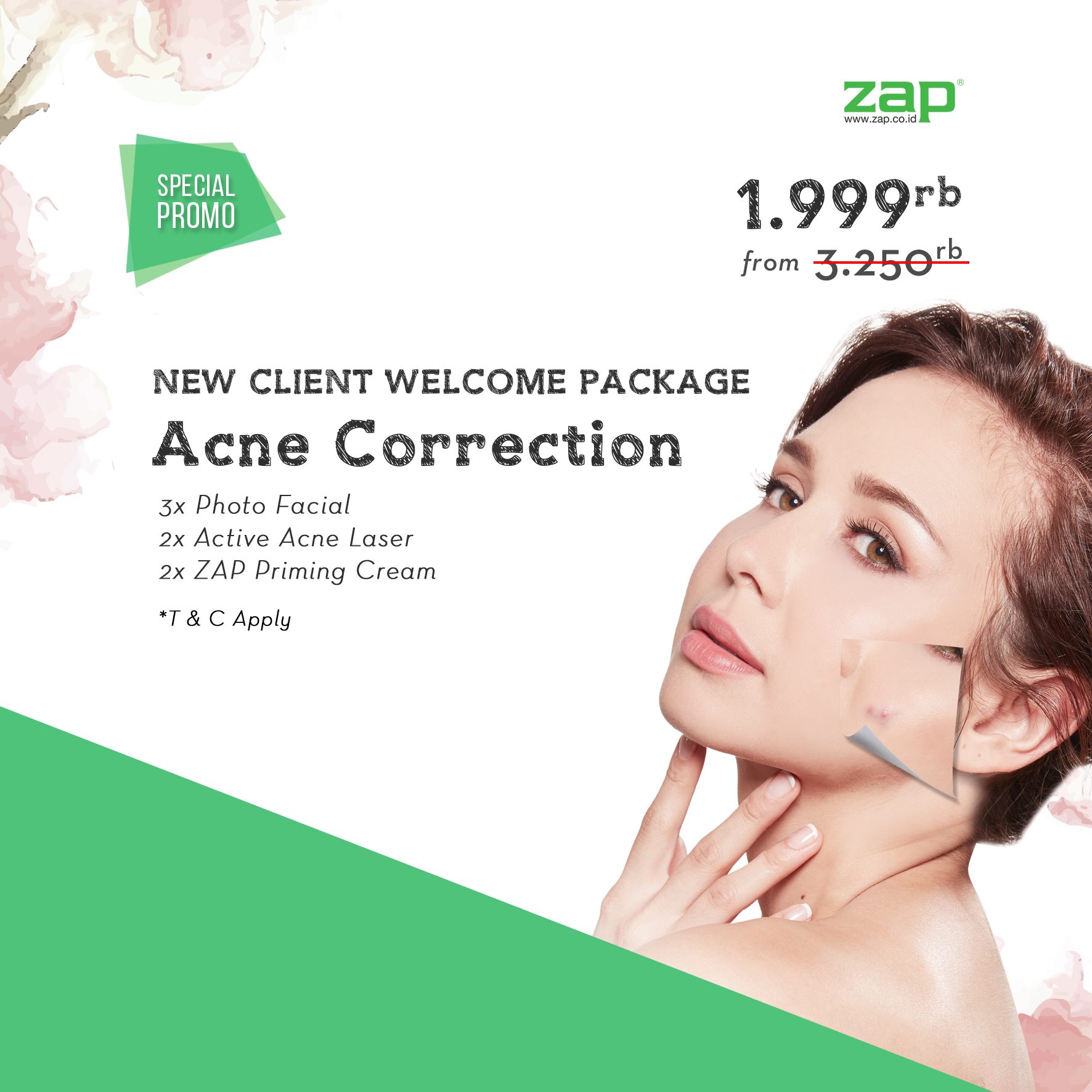 New Client Welcome Package - Acne Correction