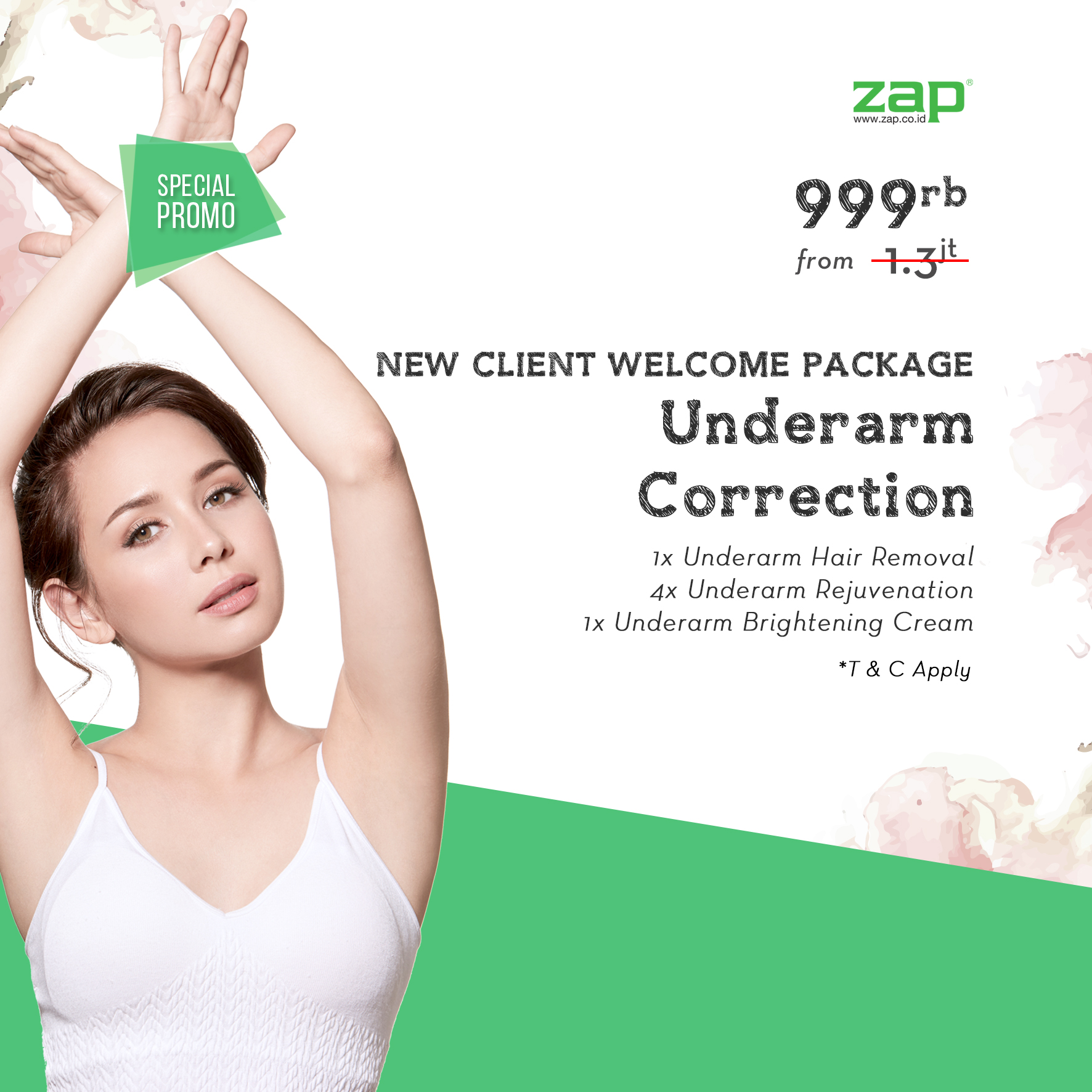 New Client Welcome Package - Underarm Correction