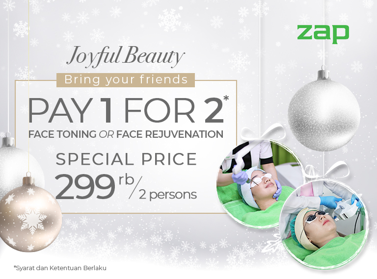 Pay 1 For 2 Face Toning or Face Rejuvenation