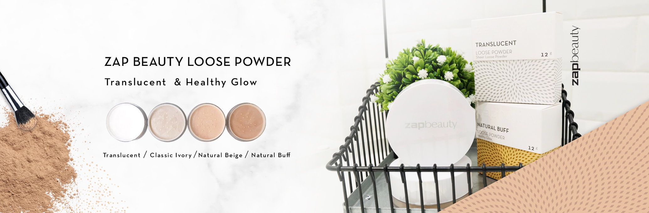 ZAP BEAUTY LOOSE POWDER
