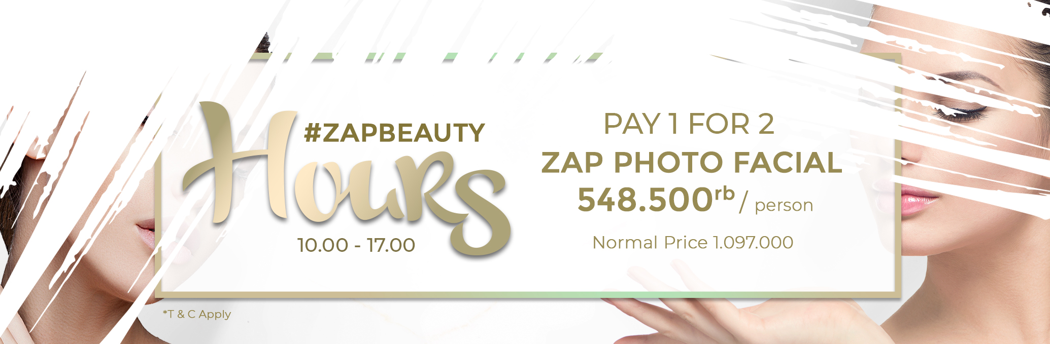 Pay 1 For 2 Photo Facial 2019