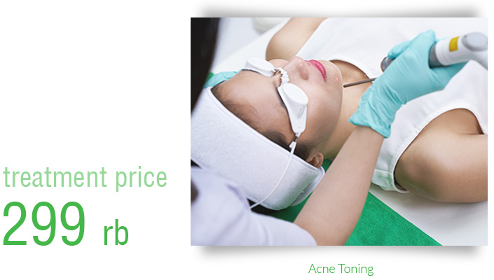Harga Treatement Acne Toning