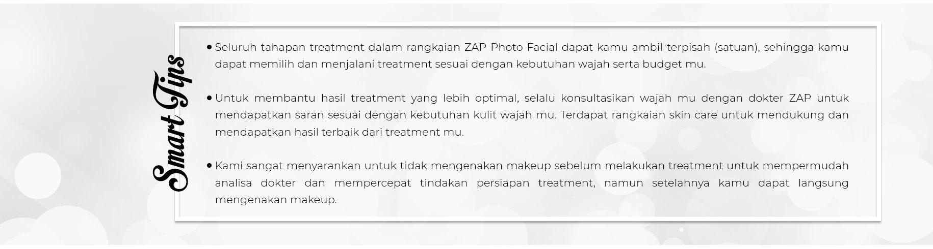 Tips Photo Facial